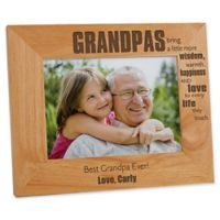 Wonderful Grandpa 5-Inch x 7-Inch Picture Frame