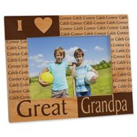 Great Grandparent 5-Inch x 7-Inch Picture Frame