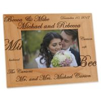 Mr. and Mrs. Collection 4-Inch x 6-Inch Picture Frame