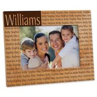 Family is Forever 5-Inch x 7-Inch Picture Frame