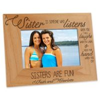 Special Sister 4-Inch x 6-Inch Picture Frame