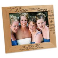Special Sister 8-Inch x 10-Inch Picture Frame