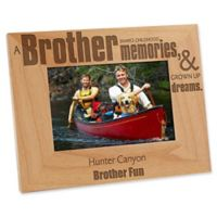Special Brother 4-Inch x 6-Inch Picture Frame