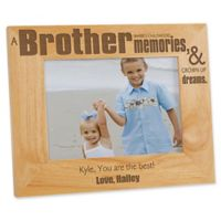 Special Brother 5-Inch x 7-Inch Picture Frame