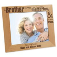 Special Brother 8-Inch x 10-Inch Picture Frame