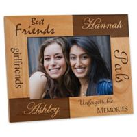Best Friends 5-Inch x 7-Inch Picture Frame