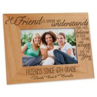 Forever Friends 4-Inch x 6-Inch Picture Frame