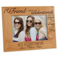 Forever Friends 5-Inch x 7-Inch Picture Frame