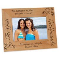 """""""Girlfriends"""" 4-Inch x 6-Inch Picture Frame"""