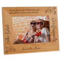 """""""Girlfriends"""" 5-Inch x 7-Inch Picture Frame"""
