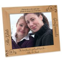 """""""Girlfriends"""" 8-Inch x 10-Inch Picture Frame"""
