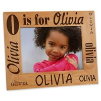 Alphabet Name 5-Inch x 7-Inch Picture Frame