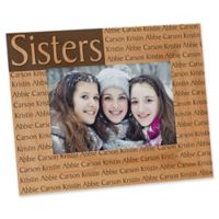 You Name It 4-Inch x 6-Inch Picture Frame