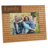 You Name It 5-Inch x 7-Inch Picture Frame