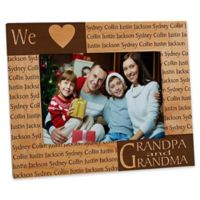 Our Loving Hearts Holiday 5-Inch x 7-Inch Picture Frame