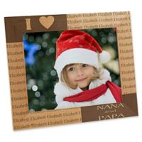 Our Loving Hearts Holiday 8-Inch x 10-Inch Picture Frame