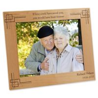 Never Forgotten Memorial 8-Inch x 10-Inch Picture Frame