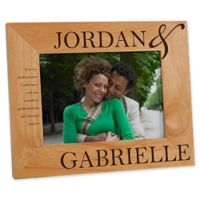 The Perfect Couple 5-Inch x 7-Inch Picture Frame
