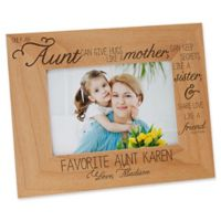 Special Aunt 4-Inch x 6-Inch Picture Frame