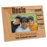 Special Uncle 4-Inch x 6-Inch Picture Frame