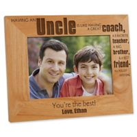 Special Uncle 5-Inch x 7-Inch Picture Frame