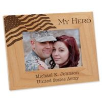 Military Hero 4-Inch x 6-Inch Picture Frame