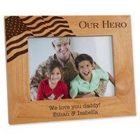 Military Hero 5-Inch x 8-Inch Picture Frame