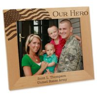 Military Hero 8-Inch x 10-Inch Picture Frame