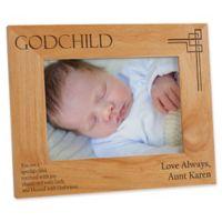 Godchild 5-Inch x 7-Inch Picture Frame