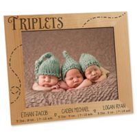 Triplet Love 8-Inch x 10-Inch Picture Frame