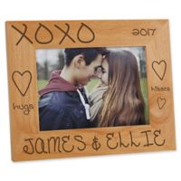 Hugs & Kisses 5-Inch x 7-Inch Picture Frame