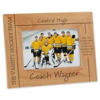 Best Coach 4-Inch x 6-Inch Picture Frame