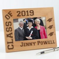 Hats Off Graduation 4-Inch x 6-Inch Picture Frame
