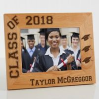 Hats Off Graduation 5-Inch x 7-Inch Picture Frame