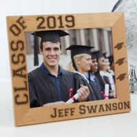 Hats Off Graduation 8-Inch x 10-Inch Picture Frame