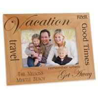 Vacation Memories 4-Inch x 6-Inch Picture Frame