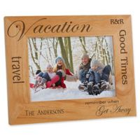 Vacation Memories 5-Inch x 7-Inch Picture Frame