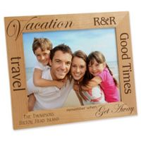 Vacation Memories 8-Inch x 10-Inch Picture Frame