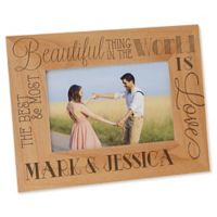 Love Quotes 4-Inch x 6-Inch Picture Frame