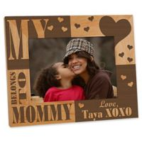 I/We Love Her 5-Inch x 7-Inch Picture Frame