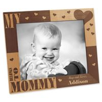 I/We Love Her 8-Inch x 10-Inch Picture Frame