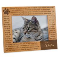 Paw Prints On Our Heart 5-Inch x 7-Inch Picture Frame