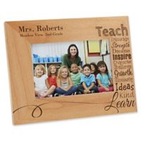 Our Teacher 4-Inch x 6-Inch Picture Frame