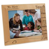 Our Teacher 8-Inch x 10-Inch Picture Frame
