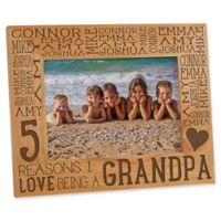 Reasons Why for Her 5-Inch x 7-Inch Picture Frame