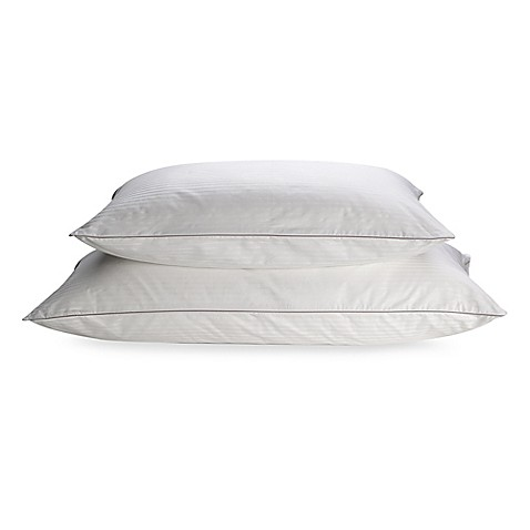 Isotonicr indulgencetm back stomach sleeper pillow bed for Best pillow for side sleepers bed bath and beyond