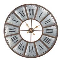 INK+IVY Verona Iron Wall Clock