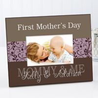 Mommy & Me 8-Inch x 10-Inch Large Picture Frame