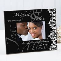 Wedding Couple 4-Inch x 6-Inch Picture Frame