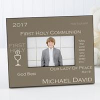 First Communion 4-Inch x 6-Inch Picture Frame